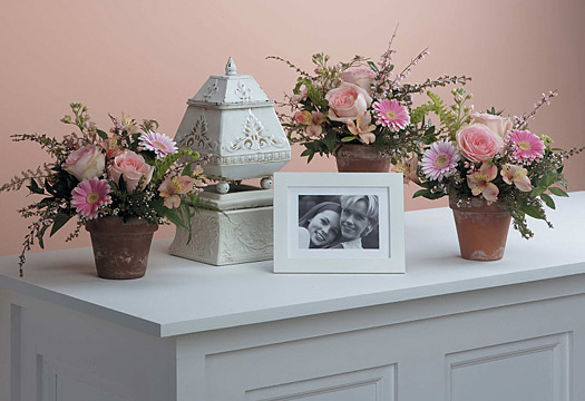 """""""Expressions of Love sympathy table arrangement"""""""