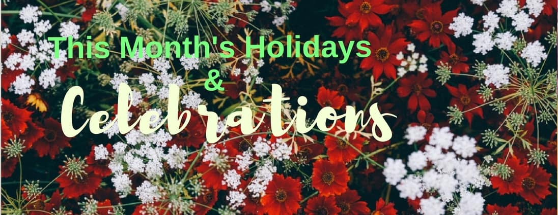 March Holidays and Celebrations