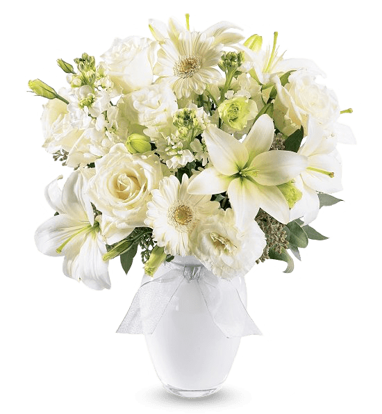 """""""Loving White Reflections bouquet"""""""