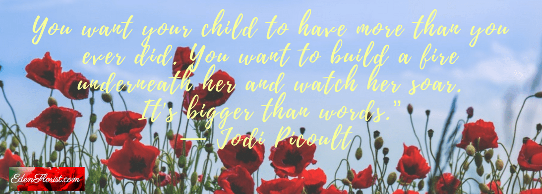 You want your child to have more than you ever did. You want to build a fire