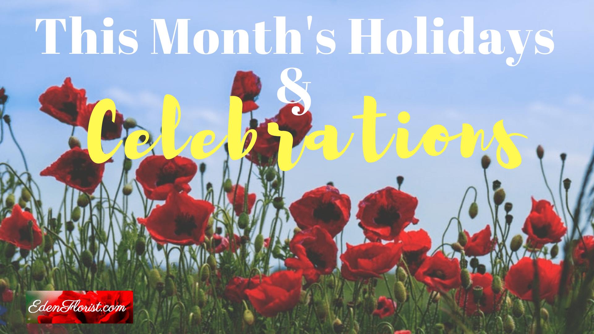 July Holidays and Celebrations