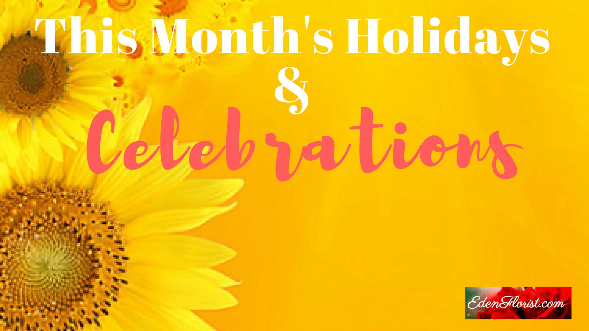 """September Holidays and Celebrations"""