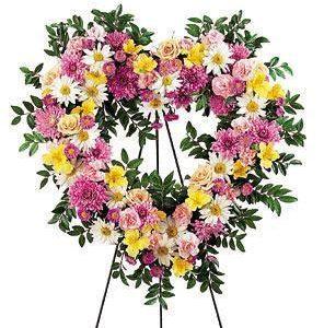"""Spring Heart Wreath"""