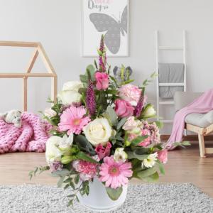 """""""angelic baby girl bouquet"""""""