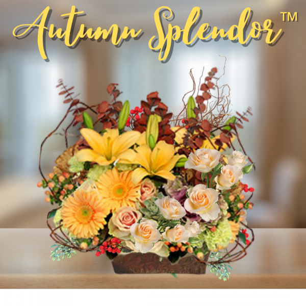 """Autumn-Splendor Bouquet"""