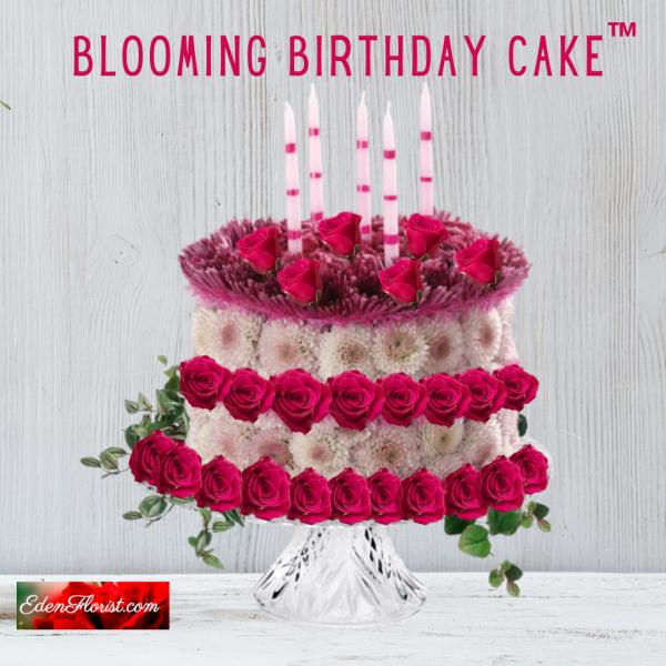 """Blooming Birthday Cake"""