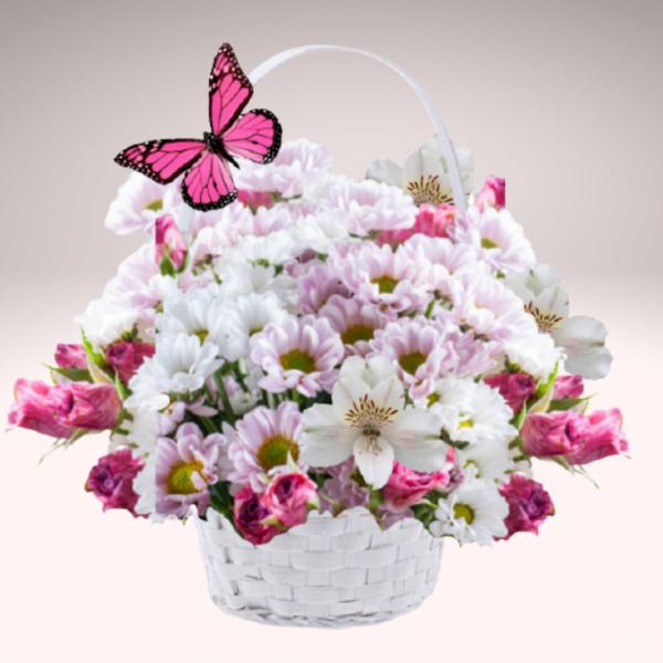 """""""Basket of Blossoms Bouquet"""""""