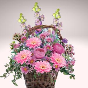 """""""Basketful of Beauty Bouquet"""""""