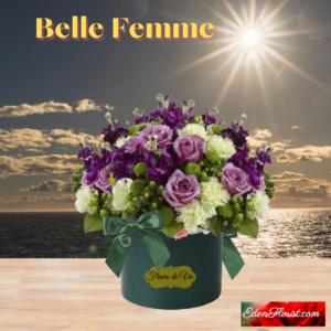 """Belle FemmeBelle Femme beautiful woman bouquet"""