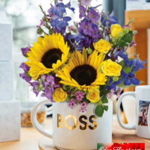 """""""Best Boss Bouquet"""""""