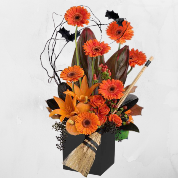 """""""Bewitched Halloween Bouquet"""""""