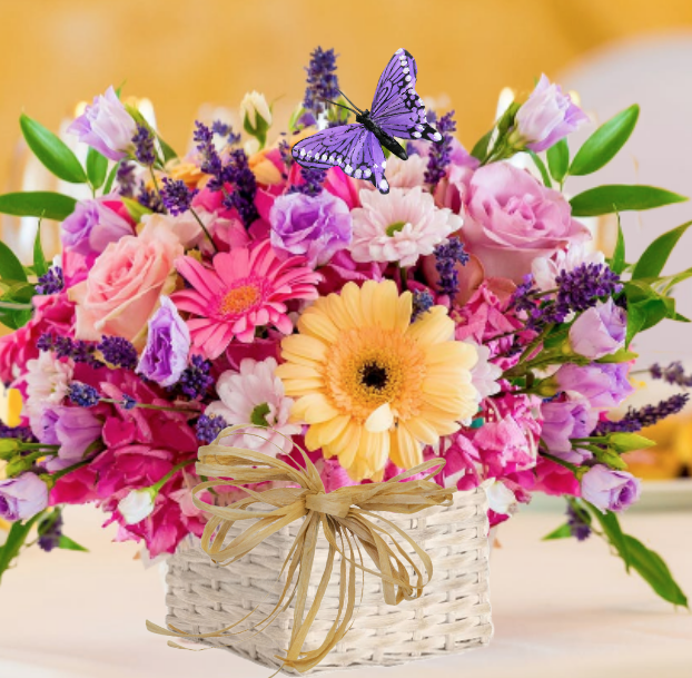 """""""Cascades of Color Bouquet"""""""