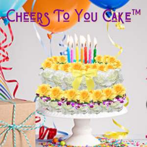 """""""Cheers to You Cake"""""""
