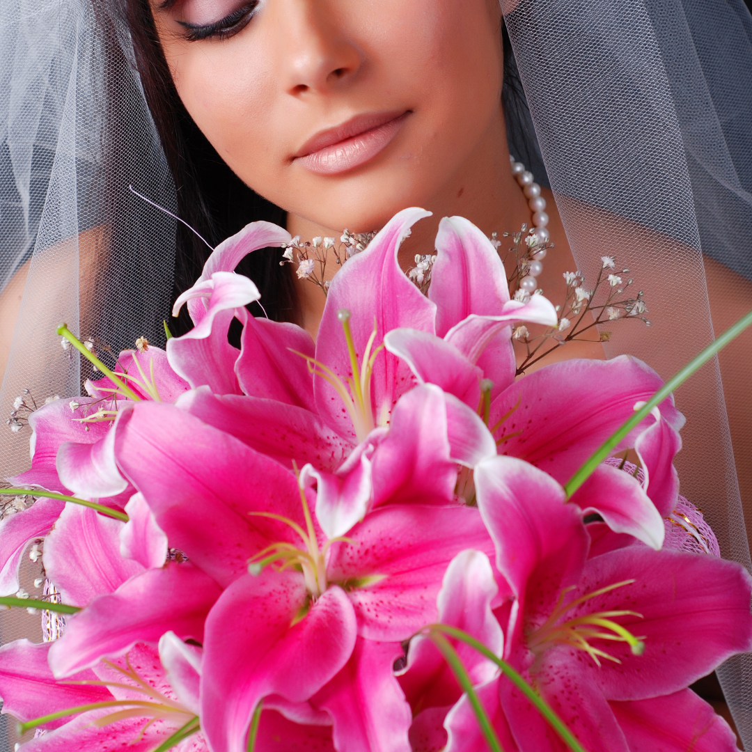 """""""Passionate pinks Hand tied bouquet"""""""