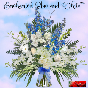 """""""Enchanted Blue and White"""""""