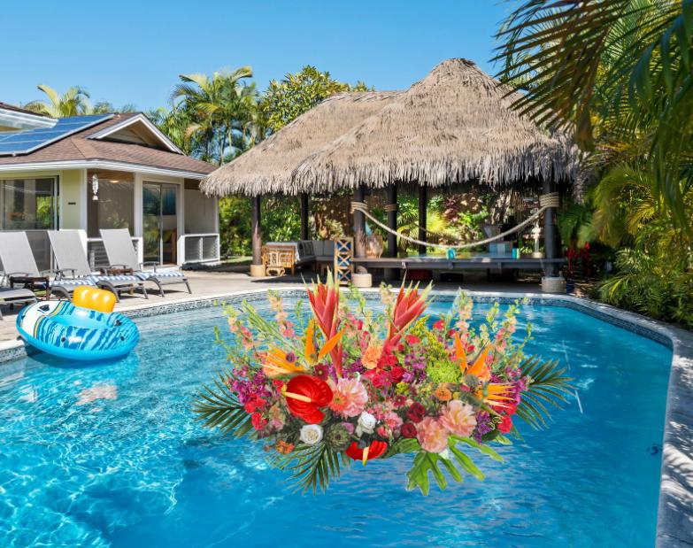 """Exotic Pool Float"""
