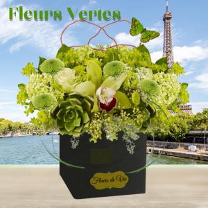 """Fleurs Vertes"""