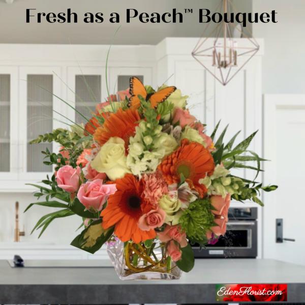 """""""Fresh as a Peach Bouquet"""""""