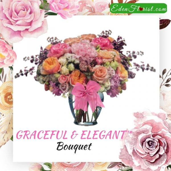 """Graceful and elegant bouquet"""