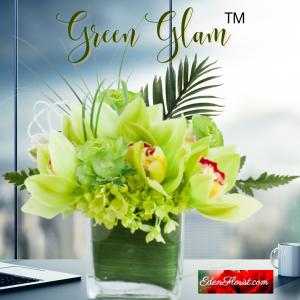 """Green Glam Bouquet"""