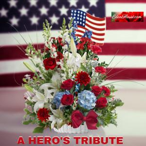 """A Hero's Tribute™Bouquet"""