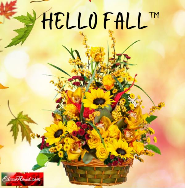 """Hello Fall Arrangement"""