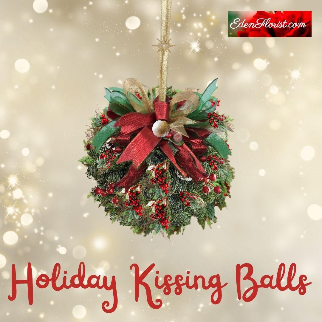"""""""Holiday Kissing Ball"""""""