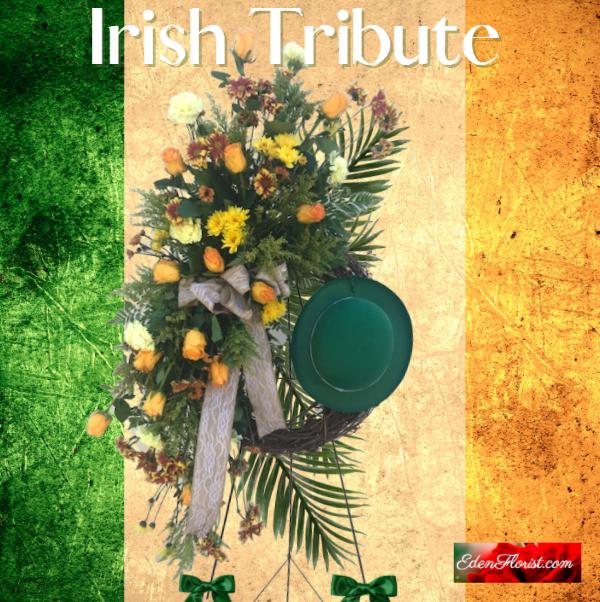 """""""Irish Tribute Standing Spray"""""""