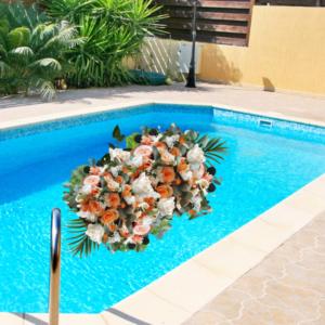 """Just Peachy Pool Float"""