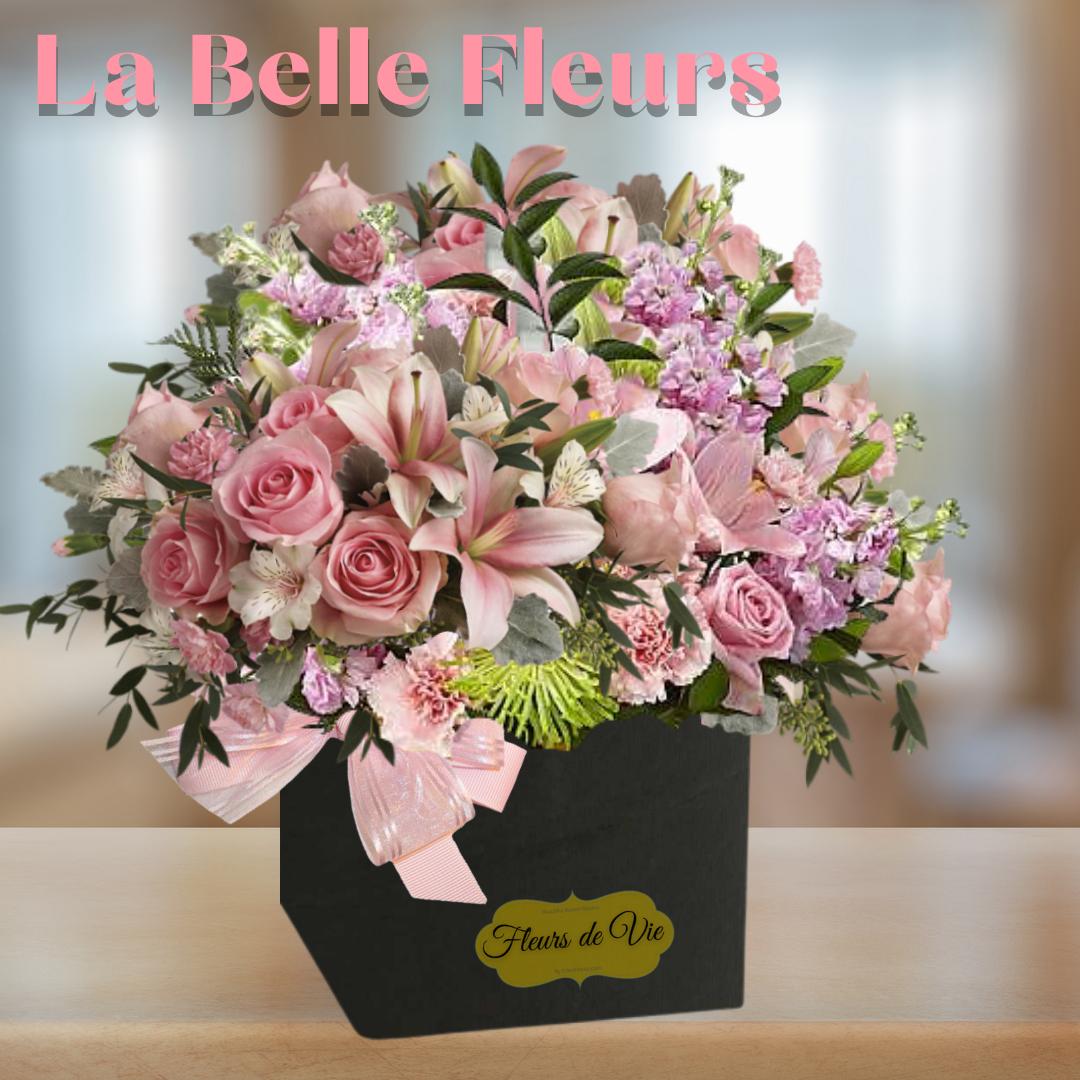 """""""La belle fleurs boxed blooms"""""""