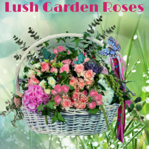 """Lush Garden Roses & More"""