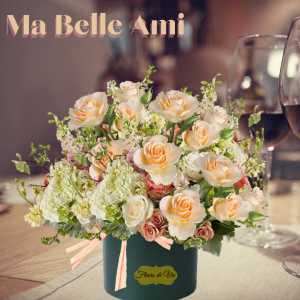 """""""Ma Belle Ami Boxed Blooms"""""""