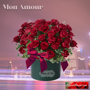 """""""Mon Amour red roses"""""""