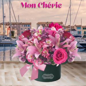 """Mon Cherie Boxed Blooms"""