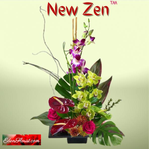 """""""New Zen Asian Inspired Arrangement"""""""