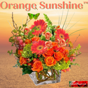 """Orange Sunshine Bouquet"""
