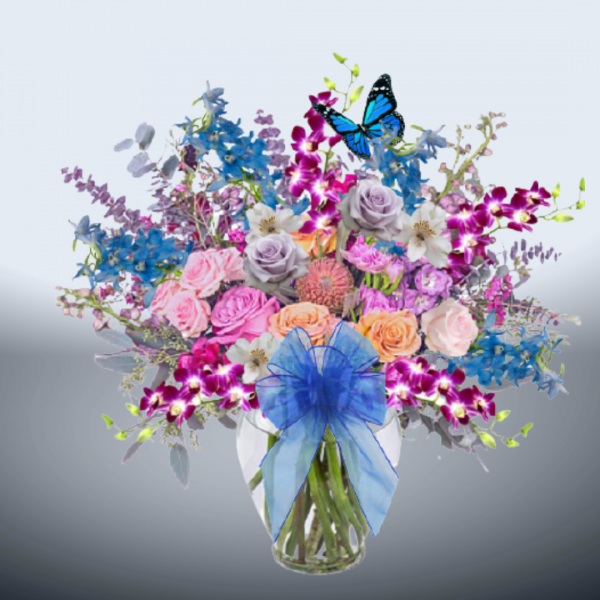 """""""Paradise Blue Bouquet"""""""