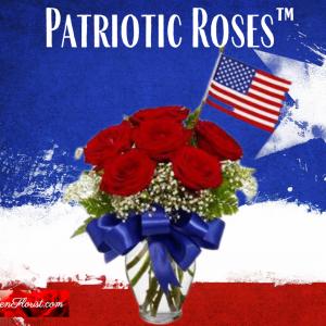 """Start Spangled Patriotic Roses"""