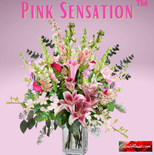"""""""Pink Sensation Bouquet"""""""