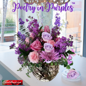 """"""" Poetry in Purples"""""""