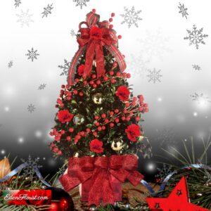 """Red Christmas Tree"""