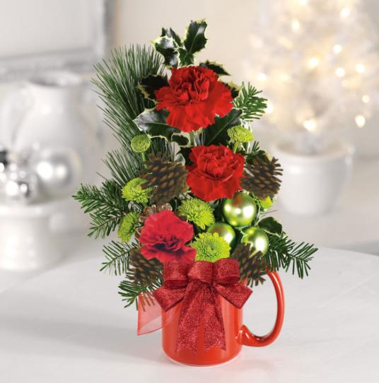 """""""Santas Holiday Cocoa Mug'"""