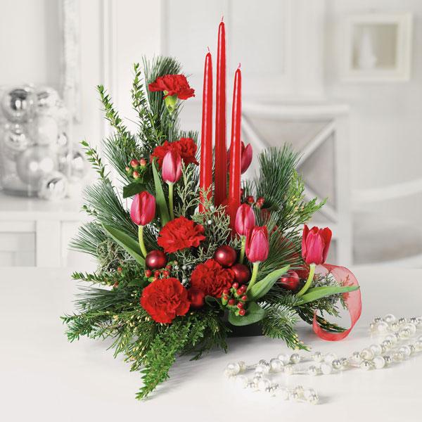"""Santas Surprise Holiday flowers"""