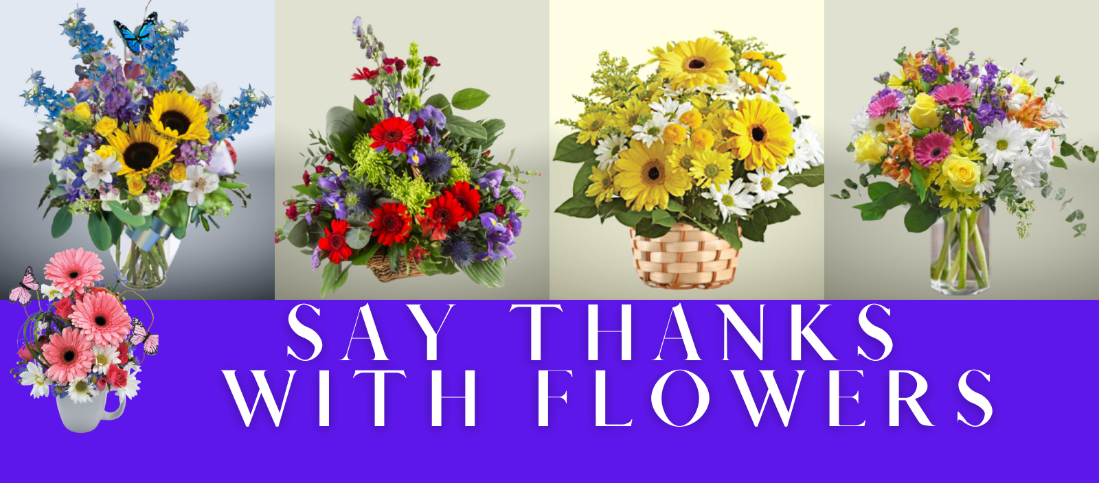 """""""Say Thanks With Flowers Header New"""""""