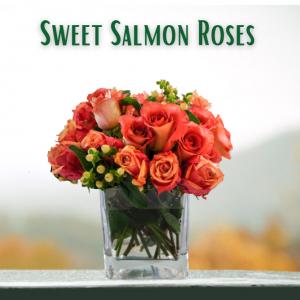 """Sweet Salmon Roses"""