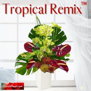 """Tropical Remix Vase Arrangement"""