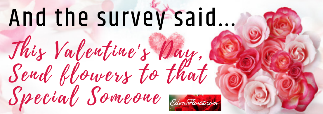 Flowers Still Among Top 5 gifts Women Really want for Valentine's Day 2020