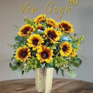"""VanGogh Vase of Sunflowers"""
