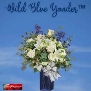 """""""Wild Blue Yonder Bouquet"""""""