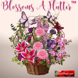 """blossoms a flutter bouquet"""